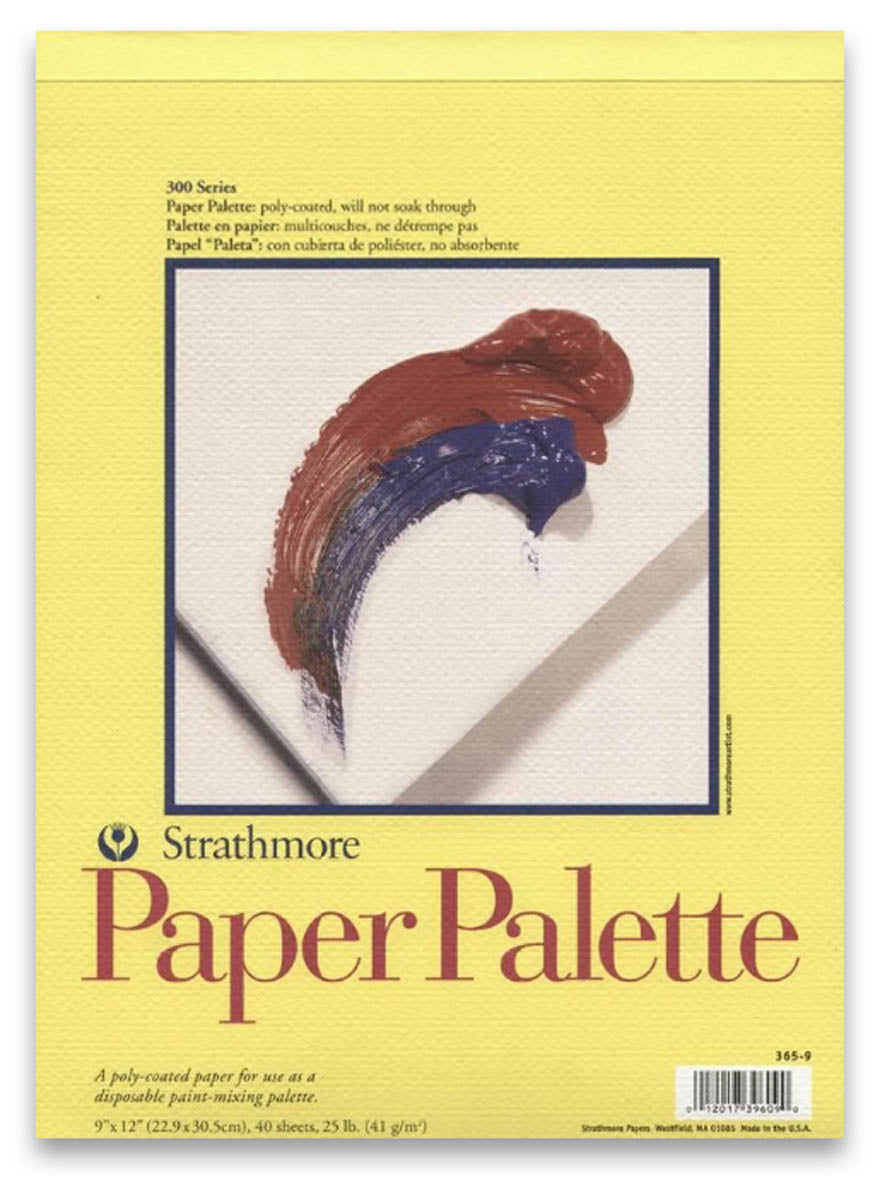 Palette Pad, 300 Series, 41 lb. by Strathmore