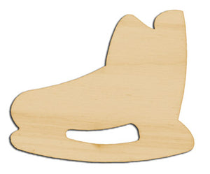 "Cutout, Hockey Skate, 31/2"","