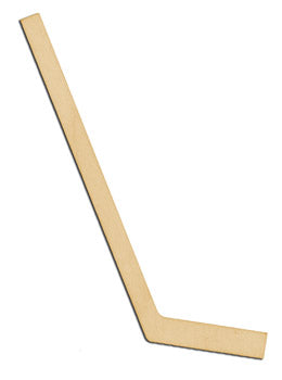 "Cutout, Hockey Stick, 5"","