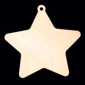 "Ornament, Star, 4 1/2"" T,"