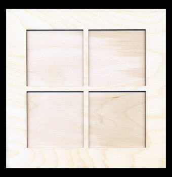 "Frame Kit, Large Window, (2) Pieces, 7 3/4"" Sq,"