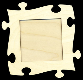 "Frame Kit, Small Puzzle Piece, 4 1/2"" Sq,"