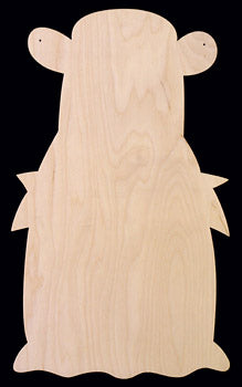 "Cutout, Angel, 14"" T,"