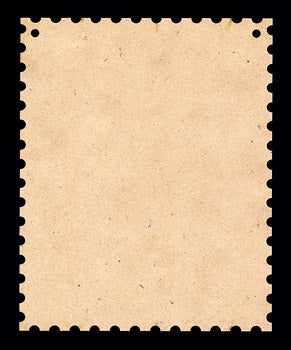 "Ornament, Postage Stamp, 5"" x 4"","