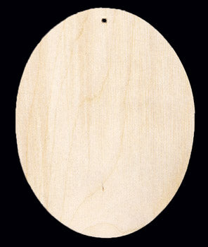 "Ornament, Oval, 4 1/2"" T,"