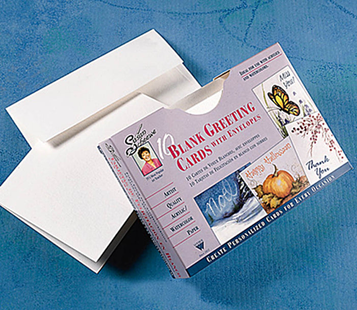 Scheewe Watercolor Paper Greeting Cards by Martin/F. Weber