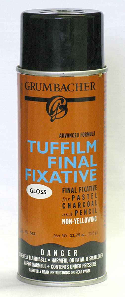 Fixative, Tuffilm Spray Gloss