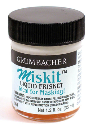 Miskit Liquid Frisket Masking Fluid by Grumbacher