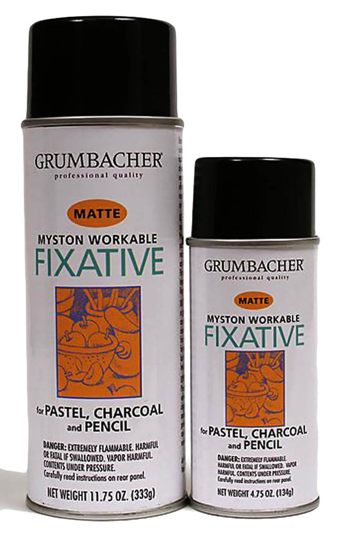 Myston Workable Fixative Spray by Grumbacher