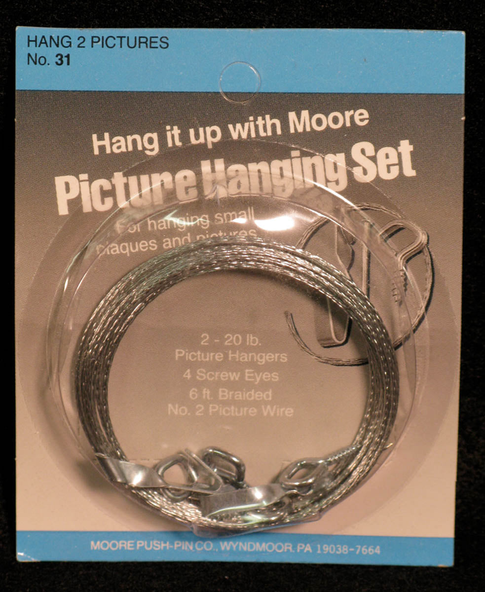Picture Hanging Set by Moore Push-pin Co.