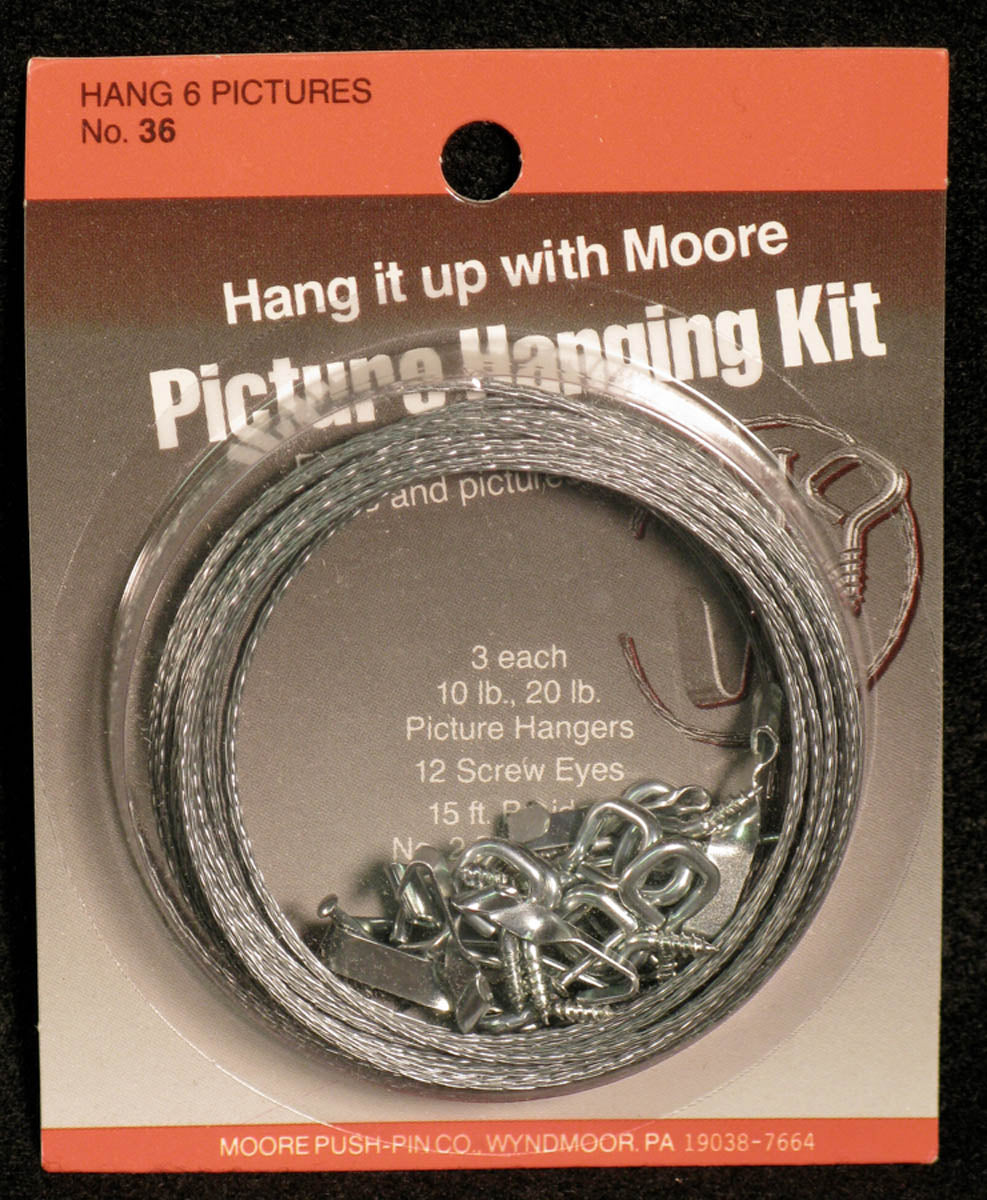 Picture Hanging Kit by Moore Push-pin Co.