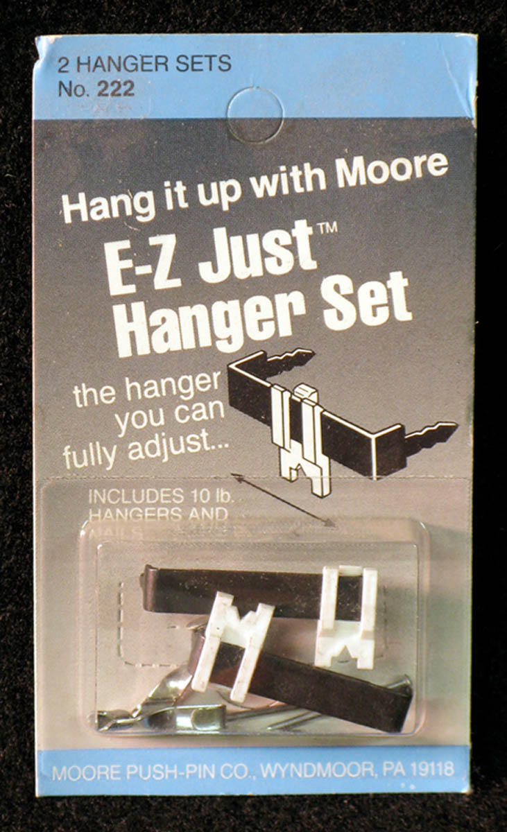 Picture Hanger Set, E-Z Just by Moore Push-pin Co.