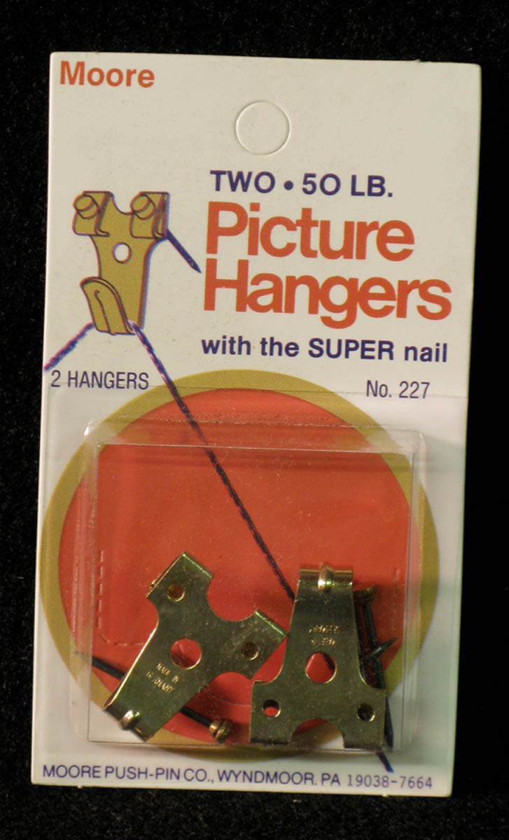 Picture Hangers, Super Nail by Moore Push-pin Co.