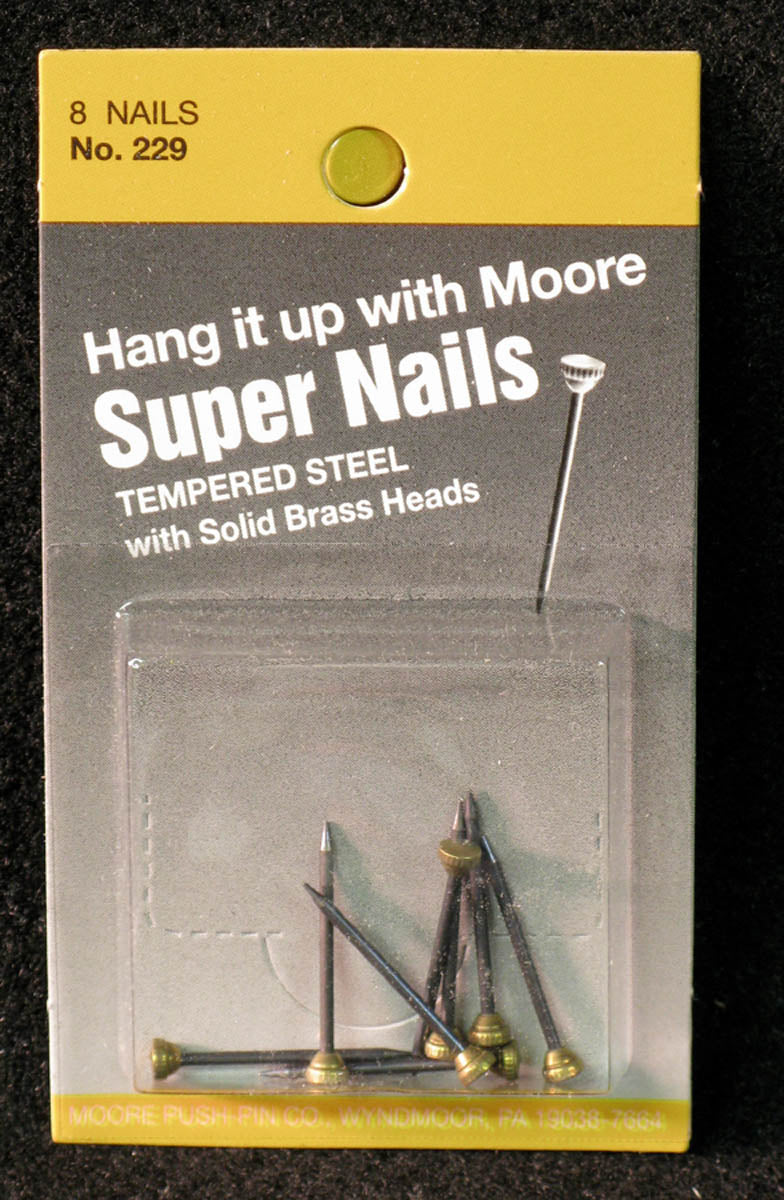 Nails, Super Nail by Moore Push-pin Co.