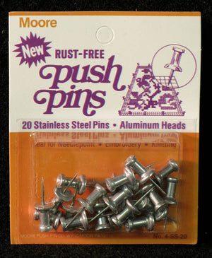Push Pins by Moore Push-pin Co.