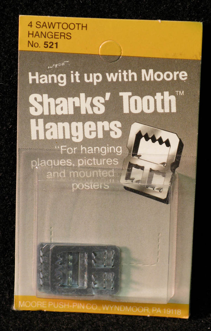 Hangers, Sharks' Tooth by Moore Push-pin Co.