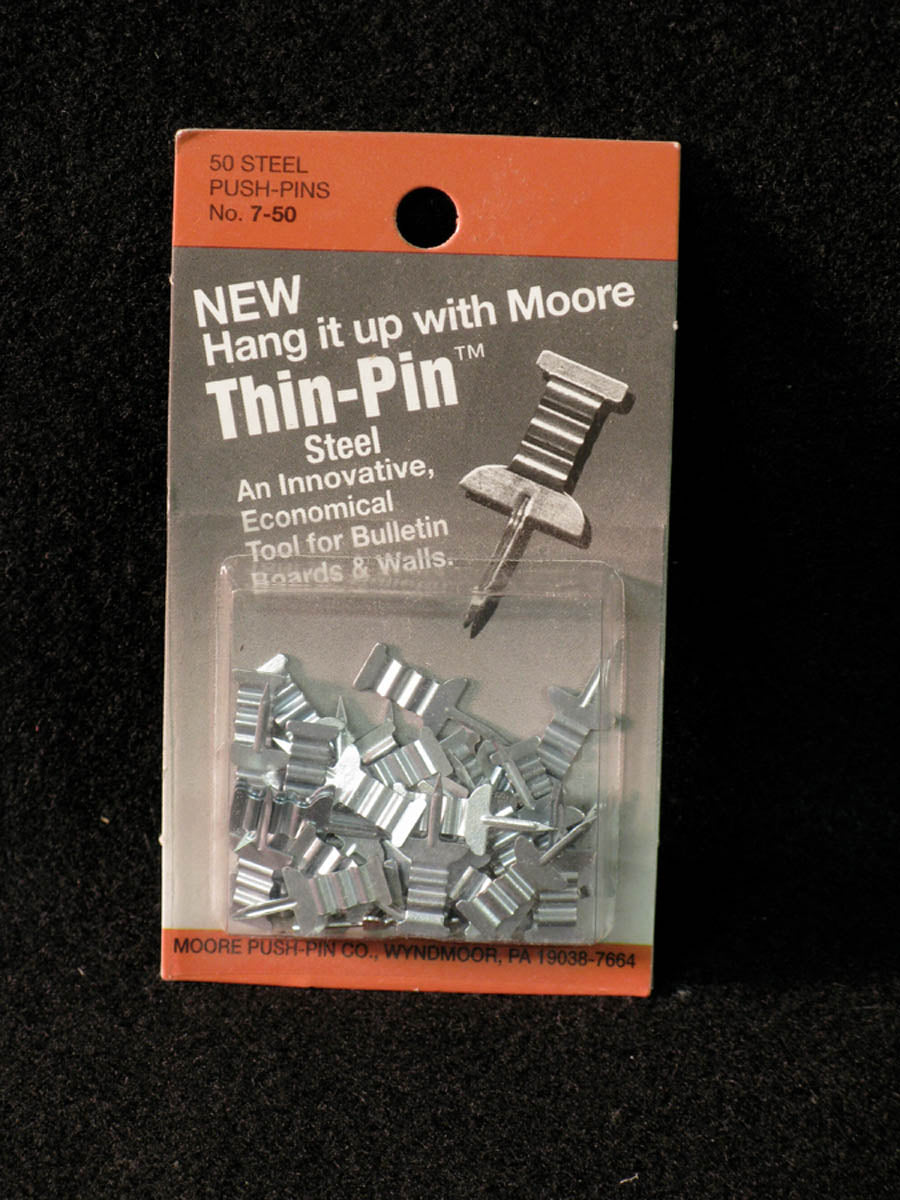 Push Pins, Thin-Pin by Moore Push-pin Co.