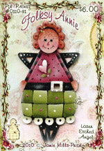 Folksy Annie Pin Packet by Jamie Mills-Price