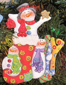 Jolly Snowmen Packet by Holly Hanley