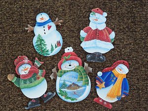 Flurry of Snowmen Packet by Linda Lover