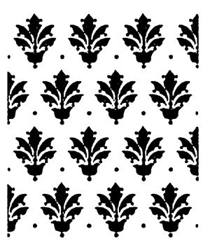 "American Classic Collection Stencil by Tracy Moreau, Southern Motif by DecoArt, 8 1/2"" x 11"","