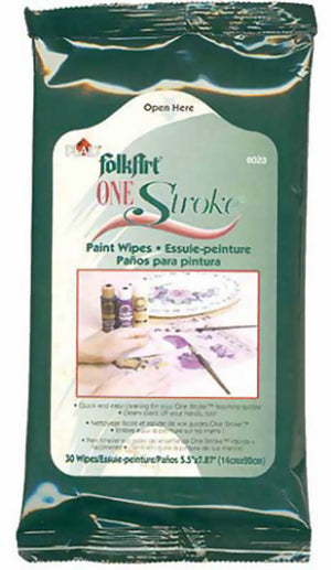 One Stroke Paint Wipes by Plaid
