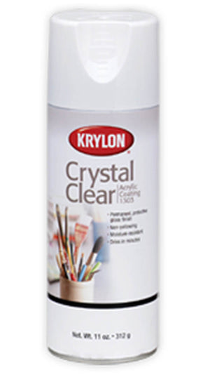 Crystal Clear Acrylic Spray by Krylon
