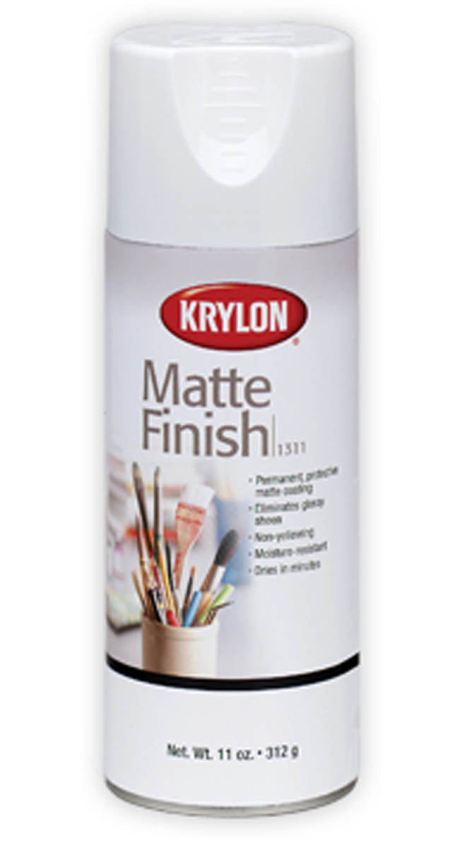 Matte Finish Spray, Matte by Krylon