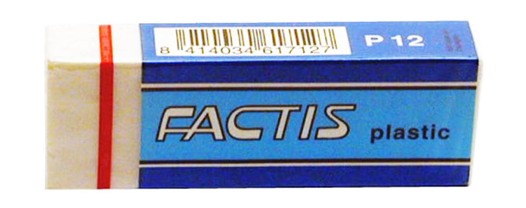 Factis Plastic Eraser by General's