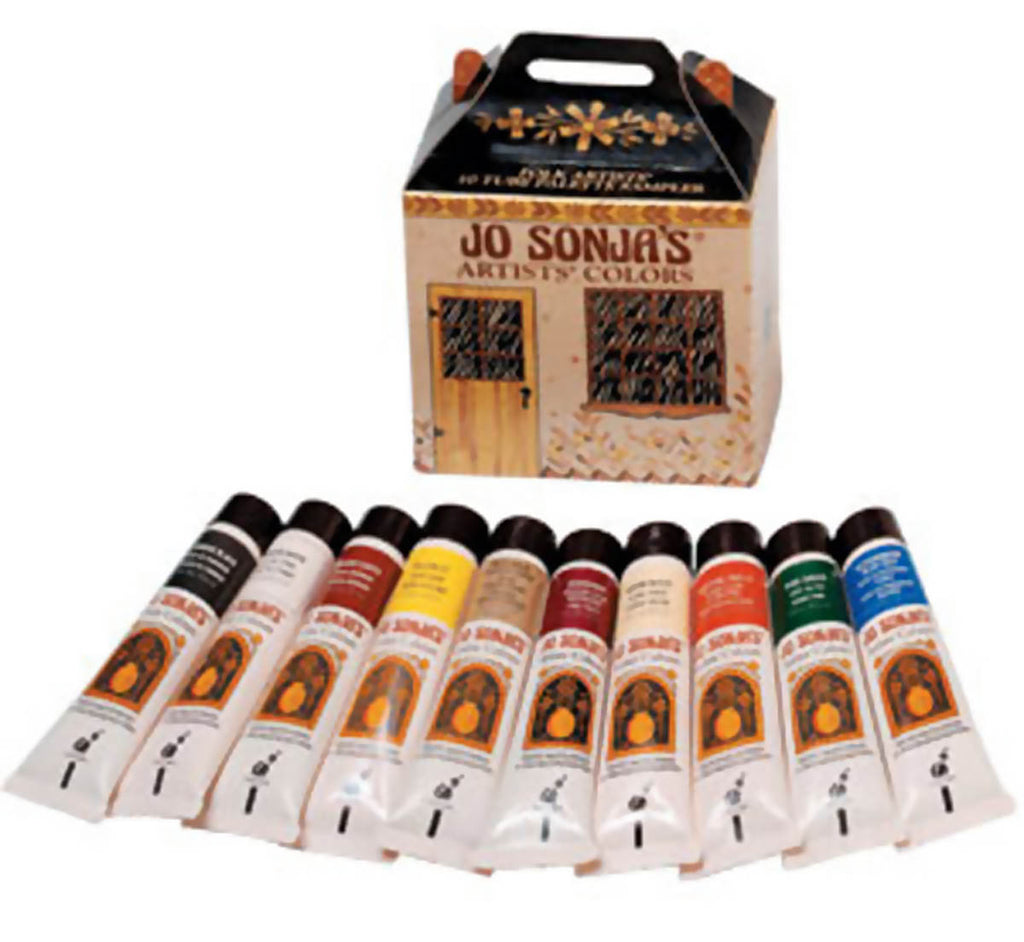 Jo Sonja Palette Sampler Paint Set by Chroma