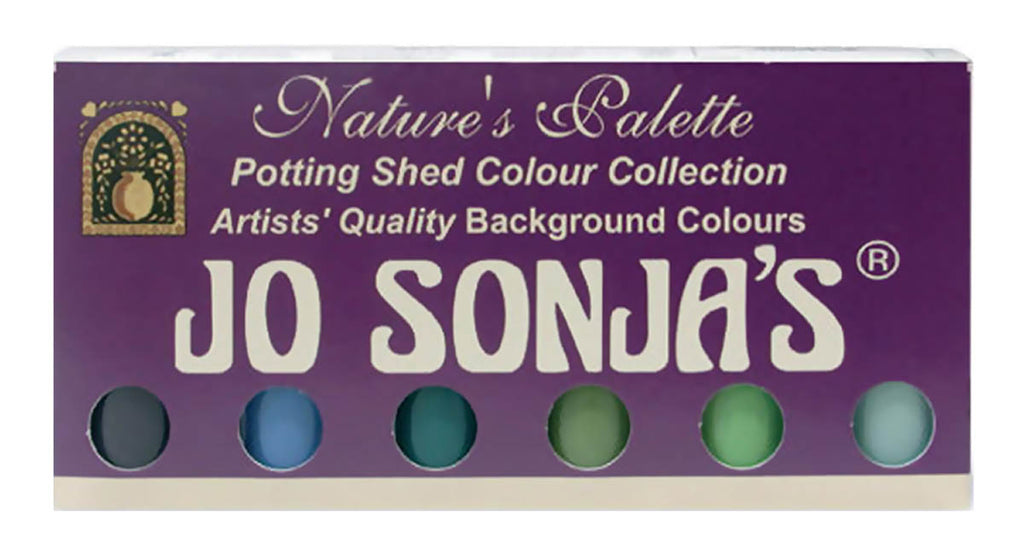 Jo Sonja Potting Shed Collection Acrylic Paint Set by Chroma
