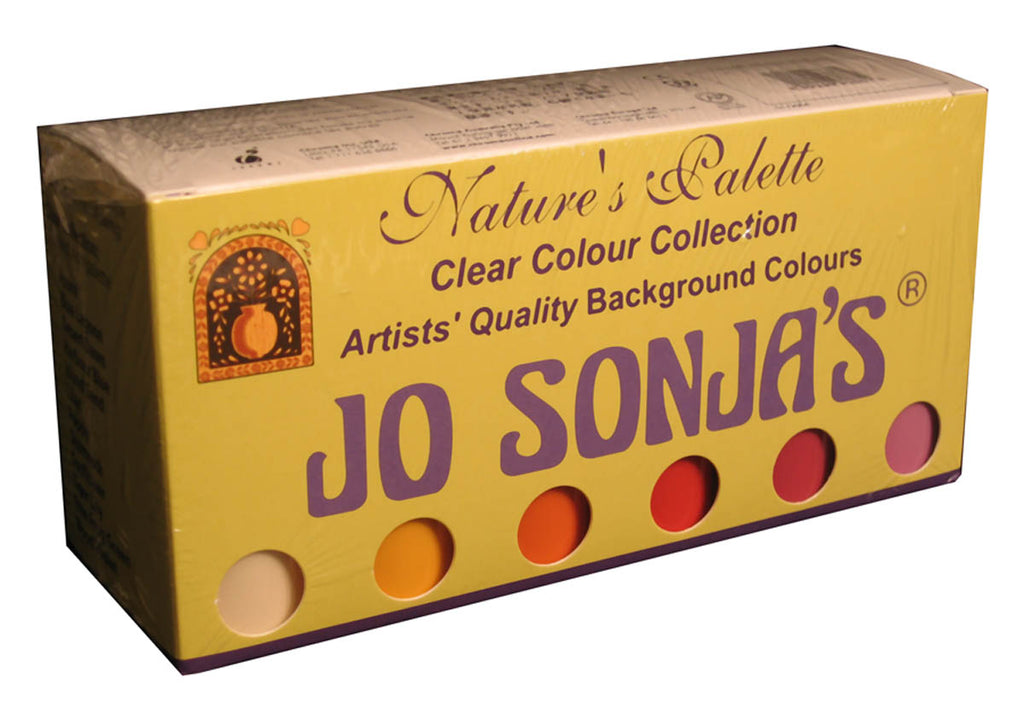 Jo Sonja Clear Collection Acrylic Paint Set by Chroma