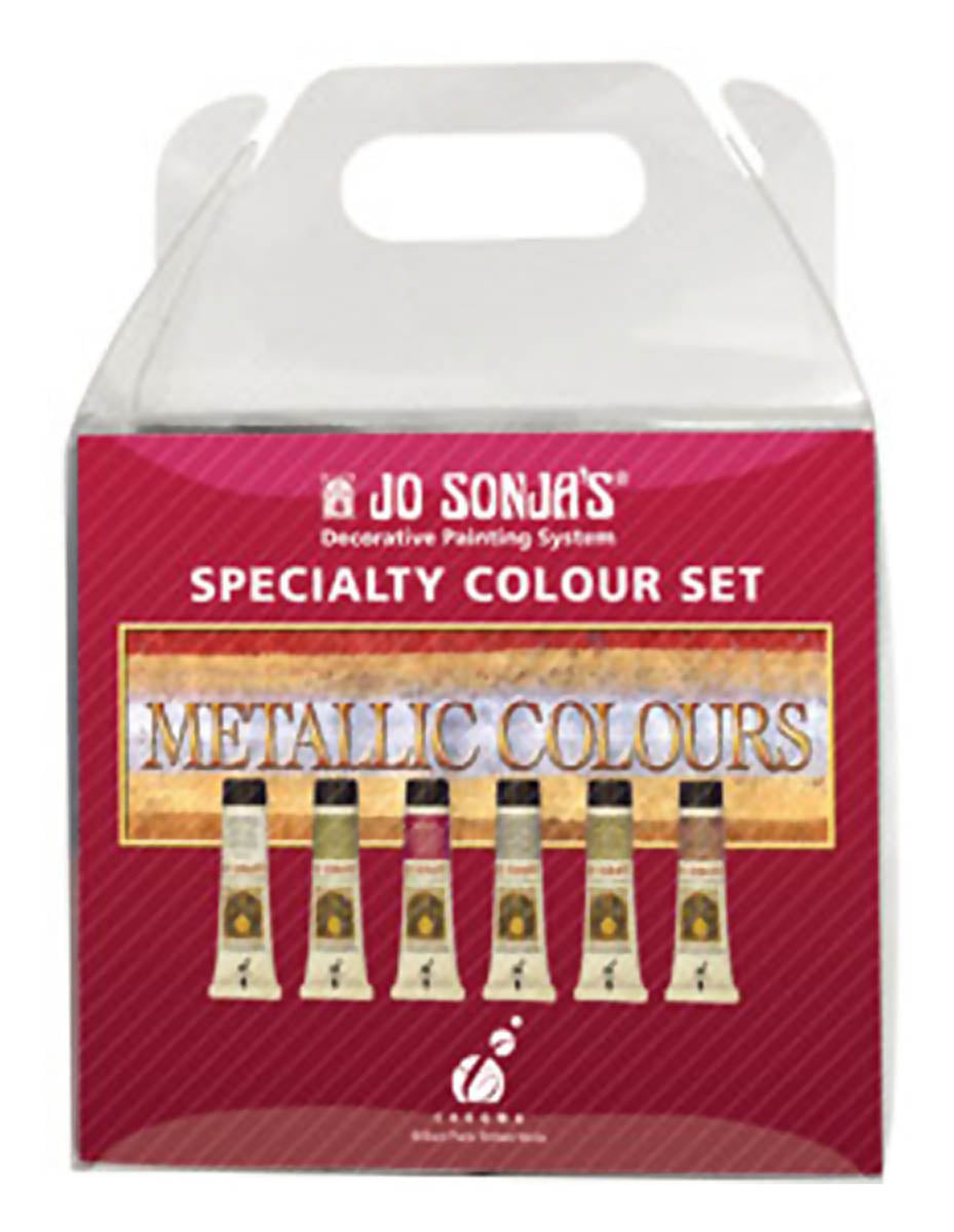 Jo Sonja Metallic Colors Sampler Set by Chroma