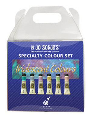 Jo Sonja Iridescents Acrylic Paint Set by Chroma