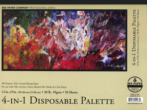 Aquabee 4-In-1 Palette by Bee Paper