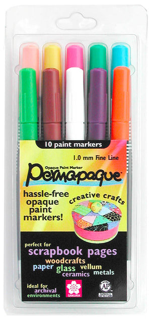 Permapaque Marker Set, Fine by Sakura