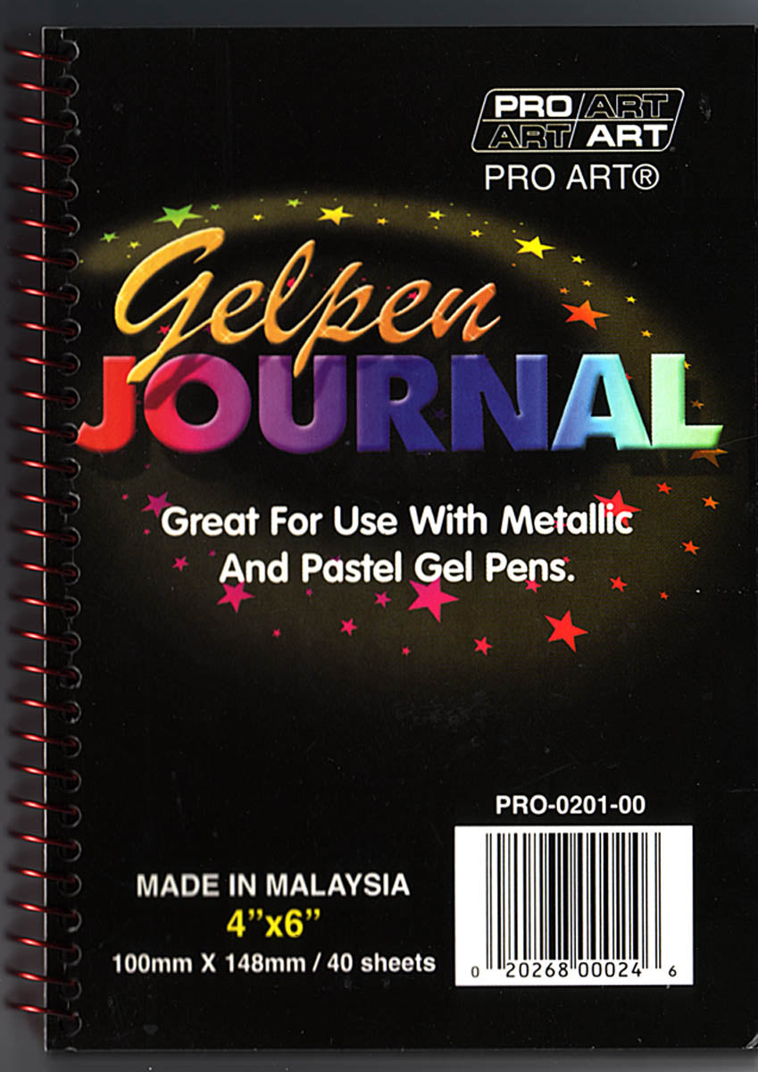 Journal, Gelpen by Pro-Art