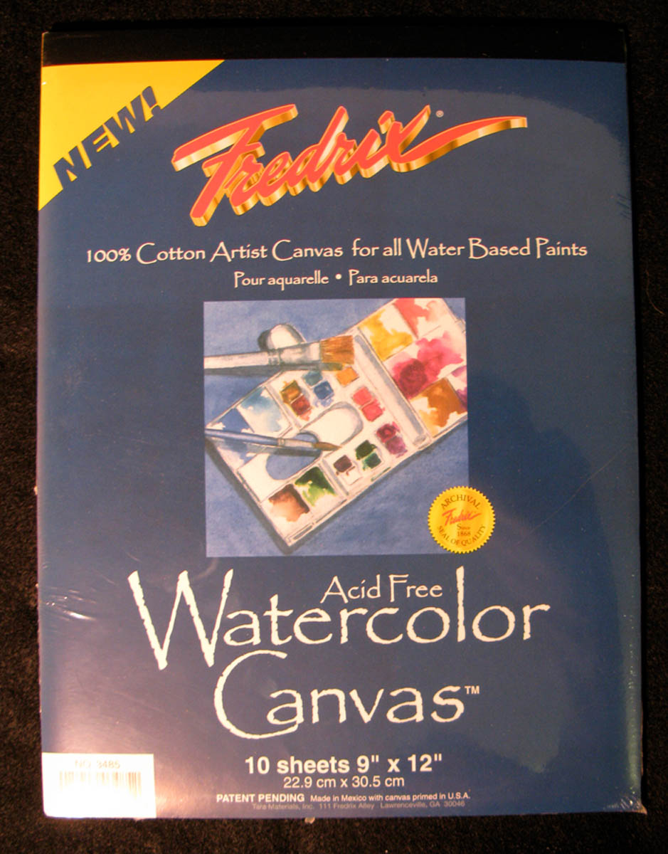 Canvas Pad, Watercolor by Fredrix
