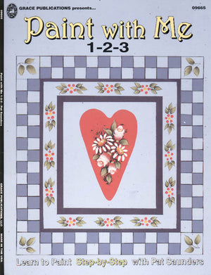 Paint with Me 1-2-3 by Pat Saunders