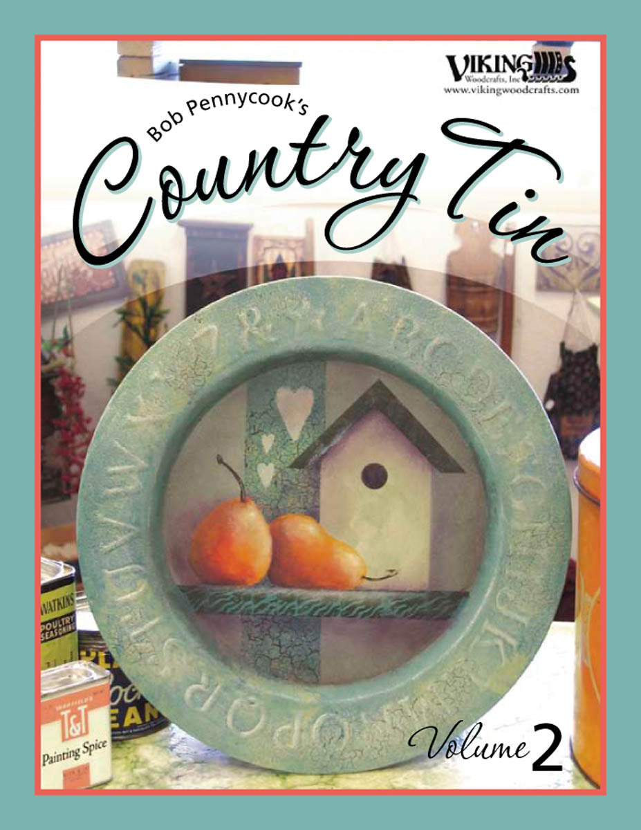 Country Tin 02 by Bob Pennycook