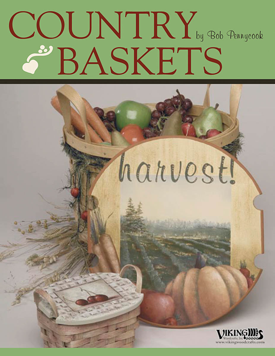 Country Baskets by Bob Pennycook