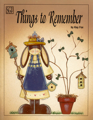Things to Remember by Kay Fox