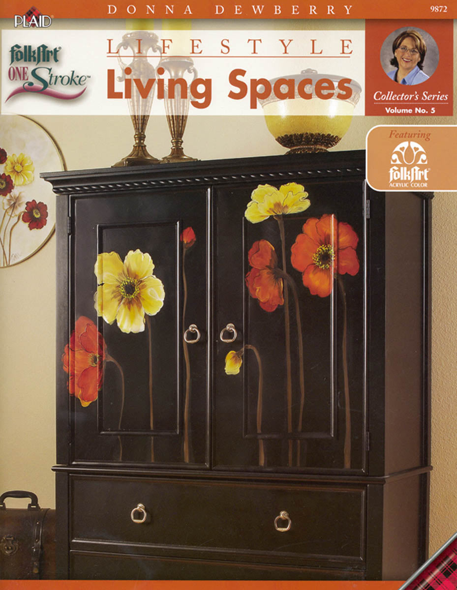 One Stroke: Lifestyle Living Spaces by Donna Dewberry