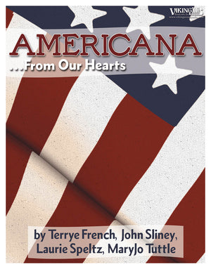 Americana... from Our Hearts by Combined Authors
