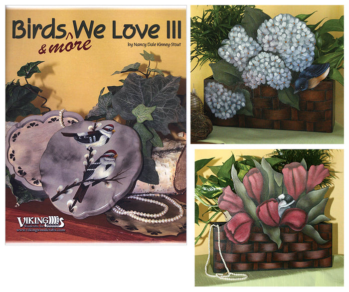 Birds & More 3 & (2) Plant Boxes by Nancy Kinney