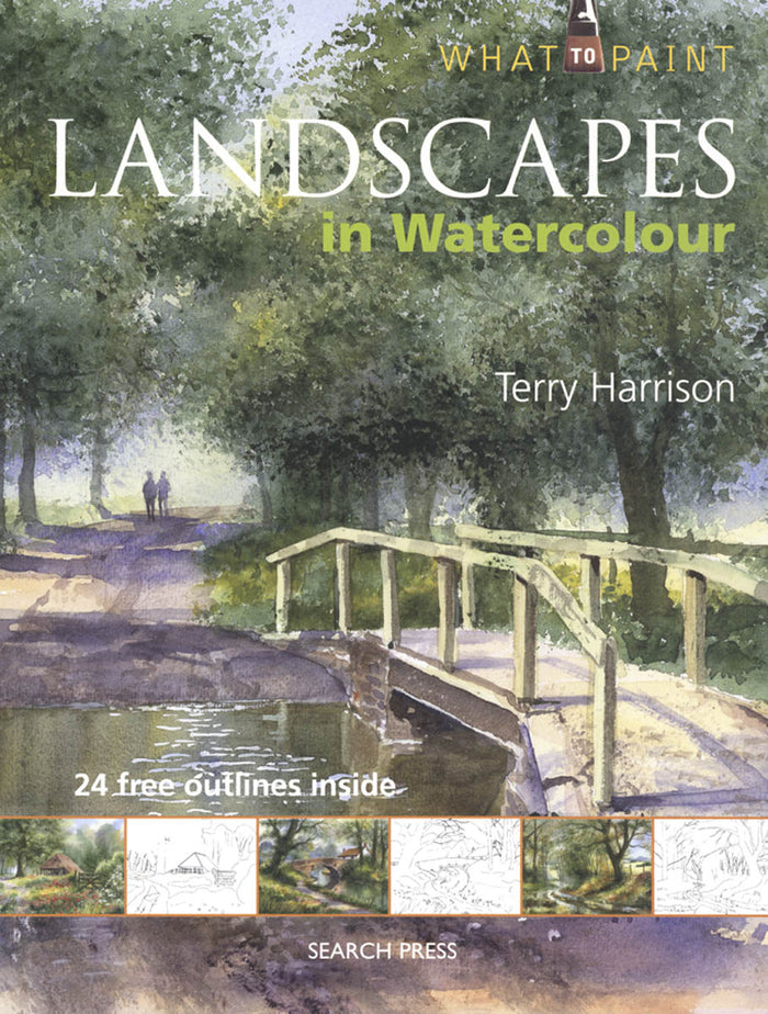Landscapes in Watercolor by Terry Harrison