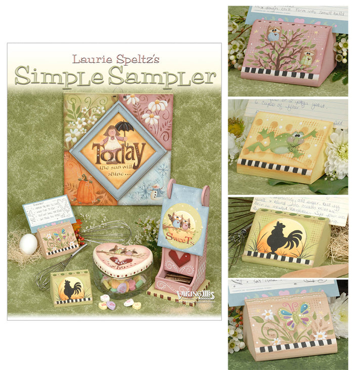 Simple Sampler & Cardholder by Laurie Speltz