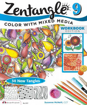 Zentangle 9 by Suzanne McNeill