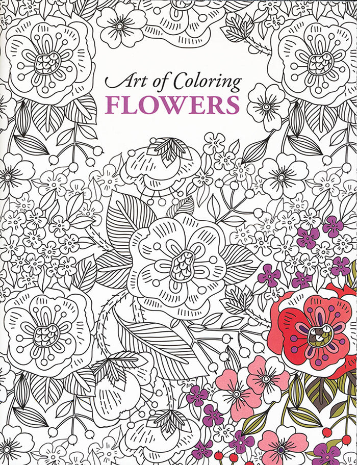 Art of Coloring Flowers by Leisure Arts