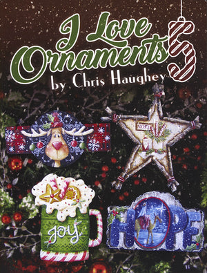 I Love Ornaments V05 by Chris Haughey